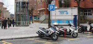 APARCAMIENTOS MOTOS SLIDER