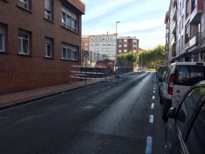 Calle Lurkizaga colegio Arteagabeitia