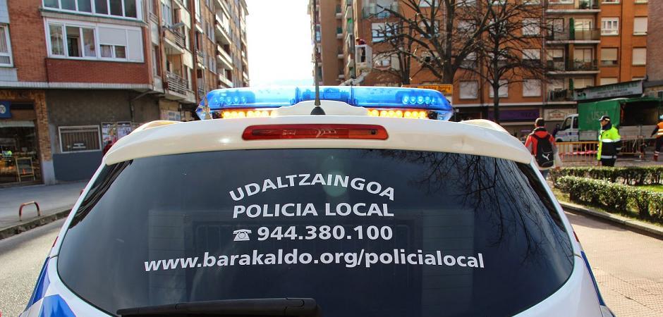 LA VIGILANCIA POLICIAL SE REDUJO UN 20% EN BARAKALDO EN 2017 POR LA FALTA DE RECURSOS
