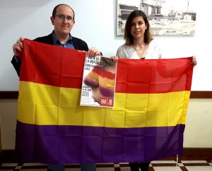 Foto de Carlos y Alba en la presentación Fiesta de la República 2018