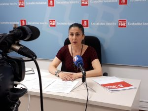 Foto rueda de prensa Ana Belén Quijada 8 de junio 2018