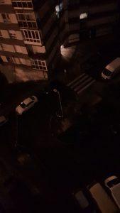 Foto La Inmaculada sin luz esta noche
