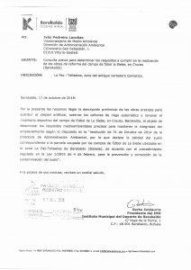 Escrito permiso solicitado Gobierno Vasco La Siebe