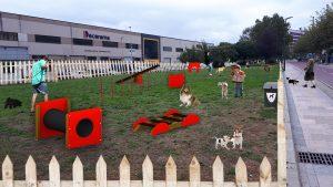 Parque para perros Beurko