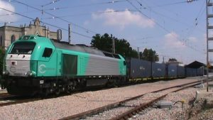 tren mercancías