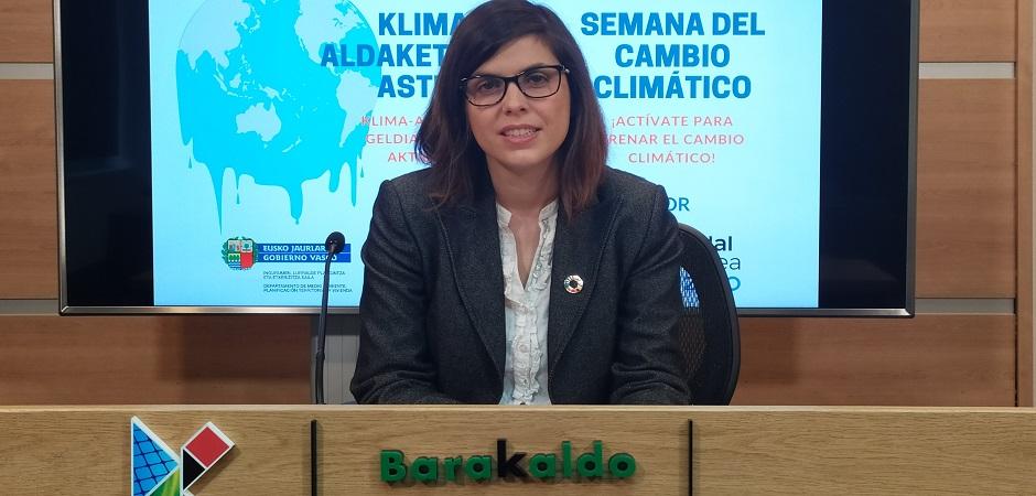 PRIMERA SEMANA DEL CAMBIO CLIMÁTICO PARA CONCIENCIAR A LOS VECINOS/AS SOBRE ESTE GRAVE PROBLEMA